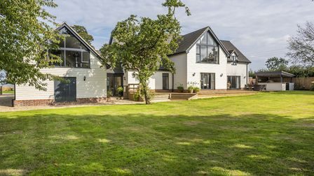 Originally a bungalow, the property is now a sleek, modern home which has been individually designed