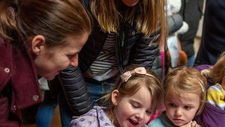 All creatures great and small entertained families at Norwich Cathedrals Easter holiday family fun d