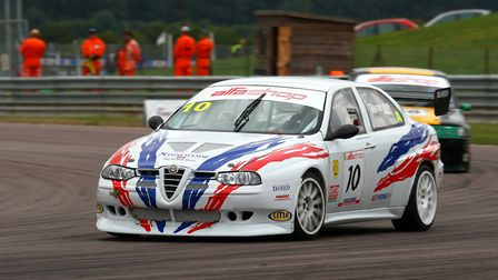 Harleston racer Anthony George will be swapping this potent turbo-charged Alfa Romeo 156 for a more