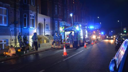There was a kitchen fire in a flat in Cromer. Picture: DAVE 'HUBBA' ROBERTS