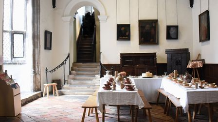 The Great Hall at Strangers' Hall. Picture: DENISE BRADLEY