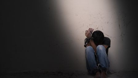 Action is being taken over human trafficking. Picture posed by model. Photo: Getty Images/iStockphot