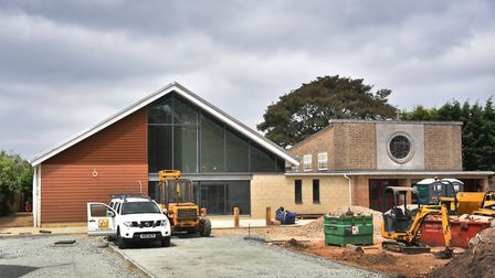 The new church hall extension at Bowthorpe Road Methodist Church. Picture: ANTONY KELLY