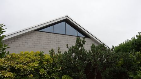The view of the extension from the agarden of a home in Old School Close. Photo: Archant