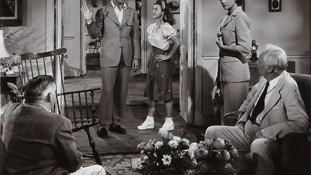 Cary Grant and Shirley Temple embrace the youth revolution in The Bachelor and the Bobby Soxer, Holl