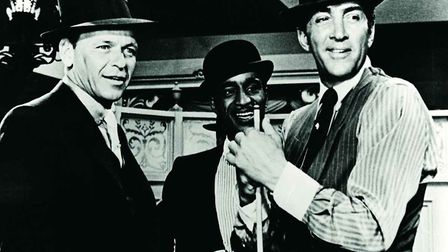 Frank Sinatra, Dean Martin and Sammy Davis Junior founder members of the Rat Pack worked on screen a