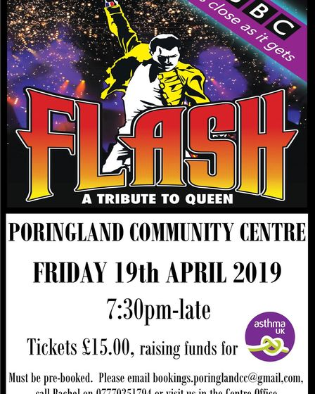 A fundraising event will be held at Poringland Community Centre. Pic: Stuart Sansbury.