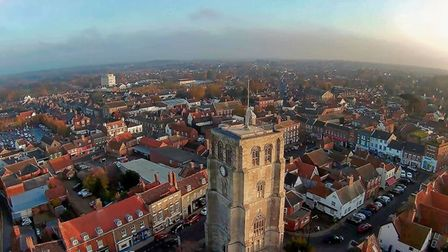 This stunning image was captured in Beccles on November 15. Picture: Contributed by Brett Ford.