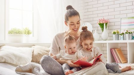 Around a third of parents of children under five do not read at home daily with their children, acco