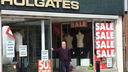 Holgates in Lowestoft, which is closing down. Pictures: Mark Boggis