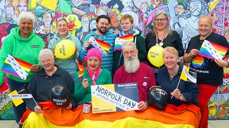 Norfolk Day and Norwich Pride are both taking place on Saturday, July 27 Photo: Brittany Creasey