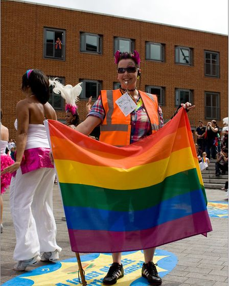Pride organising committee are sending out a rallying call for volunteers. Picture: Norwich Pride