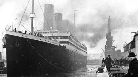 Titanic at the dockside before her fateful maiden voyage. Picture: ARCHANT LIBRARY