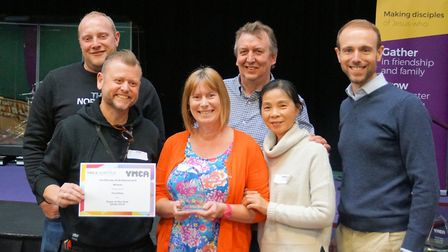 YMCA Norfolk celebrated its inspirational staff at an awards night at the King's Centre in Norwich.