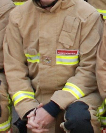 Mr Grand was among those first on the scene at a blaze which devastated the north Norfolk town of Fa