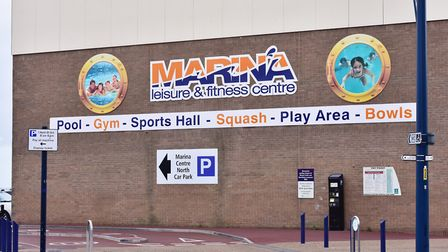 The new water and leisure complex will replace the Marina Centre.Picture: Nick Butcher
