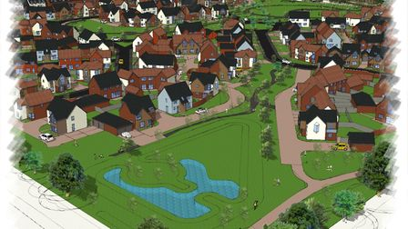 TimChris Farms Ltd, R & JM Place and Norfolk Homes are seeking to build on land off Green Lane West,