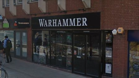 The Games Workshop store on Westlegate. Picture: GoogleMaps