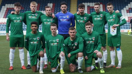 Norfolk Under 18s' FA County Youth Cup final squad Picture: Norfolk FA