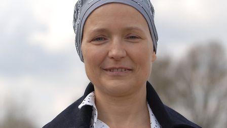 Heather Bellamy, who has a rare for of leukaemia Picture: Chris Bishop