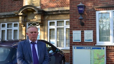 DCI Andy Guy from the joint Suffolk and Norfolk Major Investigation Team features in the TV document
