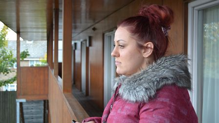 Kirbi Collyer from Tilbury in Essex who is interviewed about Ali Qazimaj in the TV documentary about