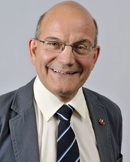 Conservative county councillor John Fisher. Photo: Broadland District Council