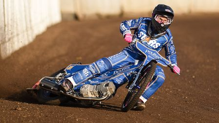 Thomas Jorgensen was in good form for King's Lynn Stars against Ipswich Witches Picture: IAN BURT PH