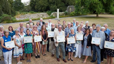Winners of the 2018 Norfolk Community Biodiversity Awards. Picture: Keiron Tovell