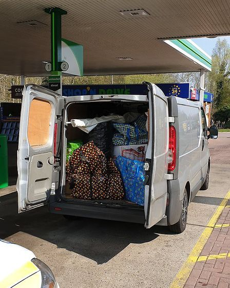 A van full of cannabis equipment was stopped on the A11 at Barton Mills. Picture: Norfolk Police