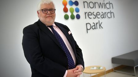 Executive chairman, David Parfrey at Norwich Research Park. PICTURE: Jamie Honeywood