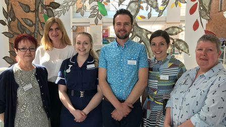 The NNUH Dementia Support Team. Photo: NNUH