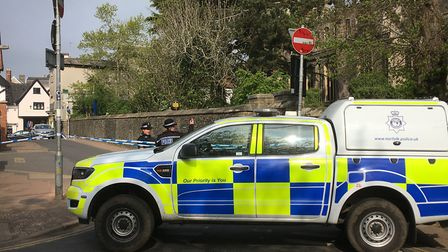 Church Street in Diss remains closed between Market Hill and Chapel Street whilst officers continue