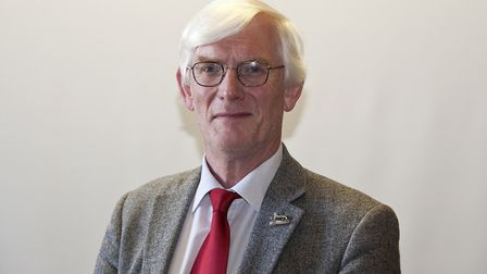 Alan Waters, leader of the Labour group at Norwich City Council. Pic: Jeff Taylor.