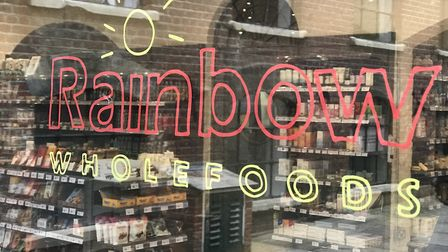 Rainbow Wholefoods has moved back to its original home in Labour in Vain Yard in Norwich after a fir
