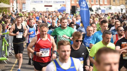 Thousands of runners will take part in the Grand East Anglia Run on Sunday. Picture: Archant