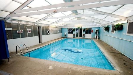 The swimming pool at Mangreen in 2010 Picture: Bill Smith