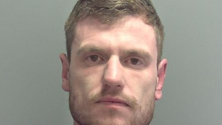 Sean Warman, who stole a police van from outside Lowestoft Police Station. PHOTO: Suffolk Police