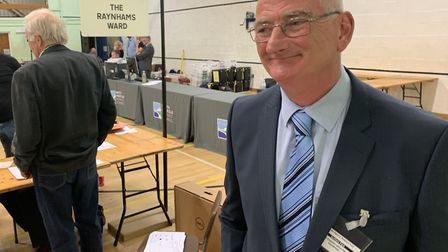John Lee, Conservative group leader, said he was 'shocked' by the results at the North Norfolk Distr