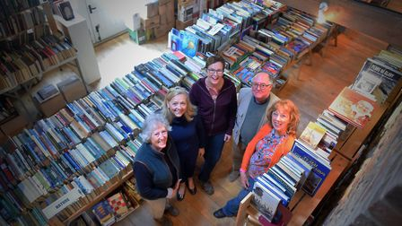 Organisers of the Morston Book Sale are hoping to top a fundraising target of 75,000 for the charity