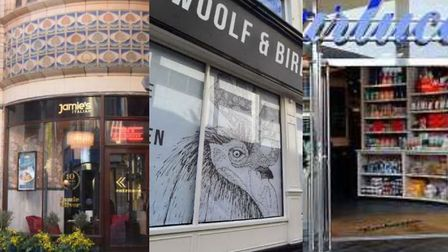 Jamie's Italian, Woolf and Bird, and Carluccio's have all closed. Photo: Archant