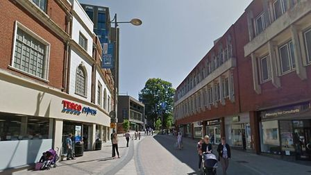 Westlegate used to be home to Purdy's. Photo: Google