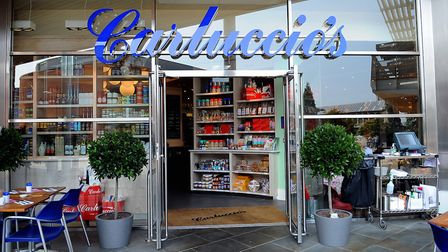 Eating Out at Carluccio's at Chapelfield Shopping Centre. Picture: Denise Bradley