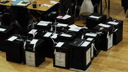 Tories are in the lead number of seats-wise but have polled 42pc of vote, while other parties have s