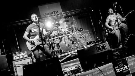 On-stage action at North Walsham Live Aid 2019. Picture: JOHN NEWSTEAD