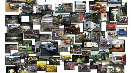 Stolen property recovered as part of Operation Moonshot. Picture: Norfolk Constabulary