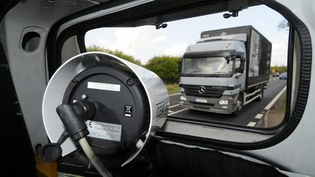 An ANPR camera scans the roads Picture: Simon Finlay