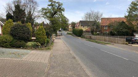Residents of Heath Road, Hockering have hit out at an increase in traffic on their road. Picture: Ar