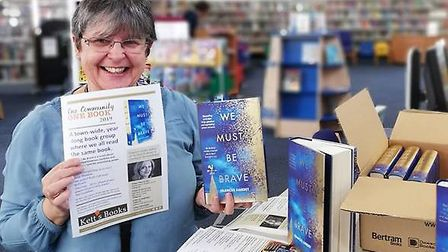 Kett's Books have donated six new copies to encourage people to take part in their One Community; On