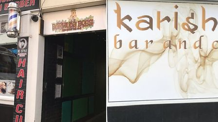 Bermuda Bob's Rumshack and Karishma in Norwich are facing licensing reviews on Thursday. Picture: La